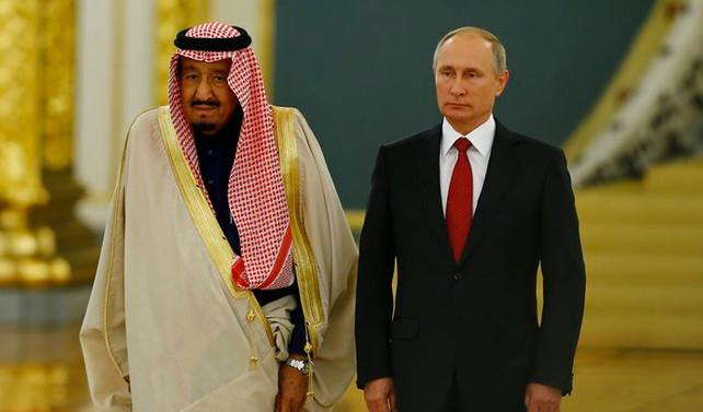 Kral Selman, Rusya'da