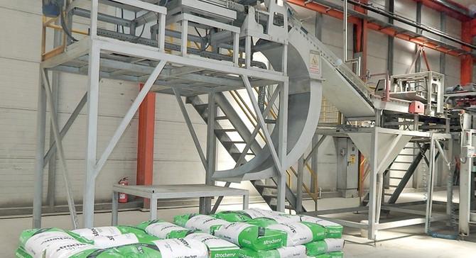 Stroton, yeni tesis ile galvanizli iskele üretimine başladı