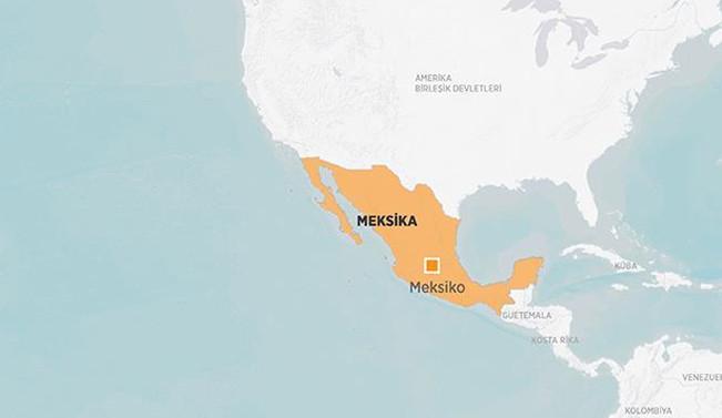Meksika'da askeri helikopter düştü: 7 ölü,1 yaralı