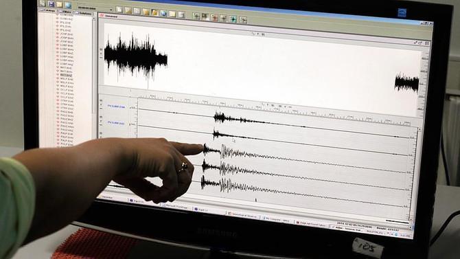 Akdeniz açıklarında 4,1'lik deprem