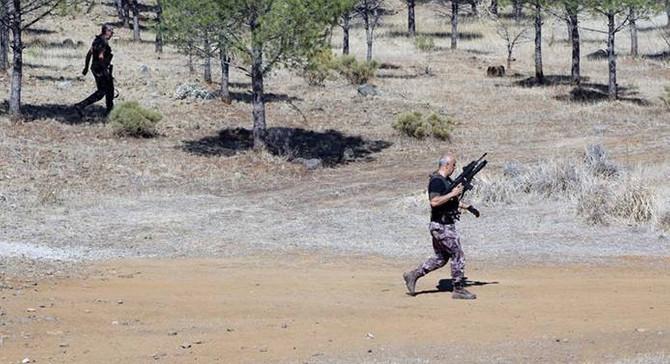 Muğla'da terörist kendini patlattı