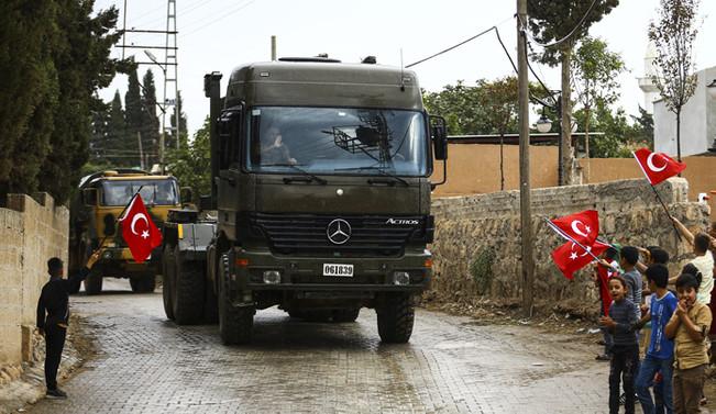 Sınırdaki askeri hareketlilik devam ediyor