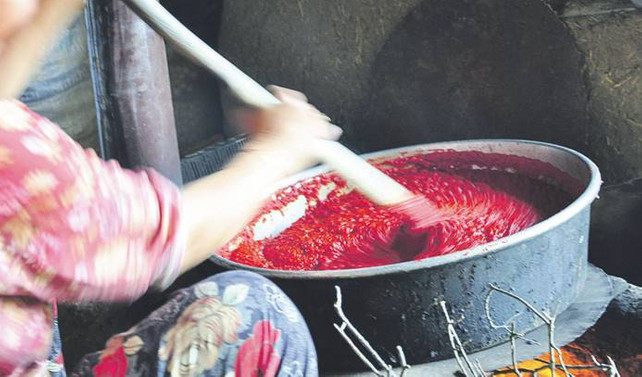 Yemeklerin tadı ve rengi, damağımızın lezzeti salça