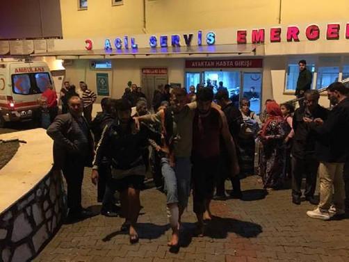 Antalya'da hortum: 18 yaralı