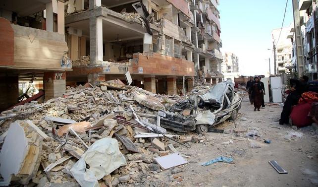 İran, depremin ardından arama çalışmalarına son verdi
