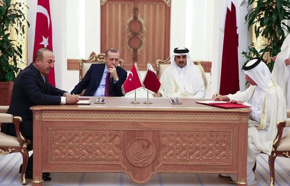 Katar ile çeşitli alanlarda anlaşmalar imzalandı