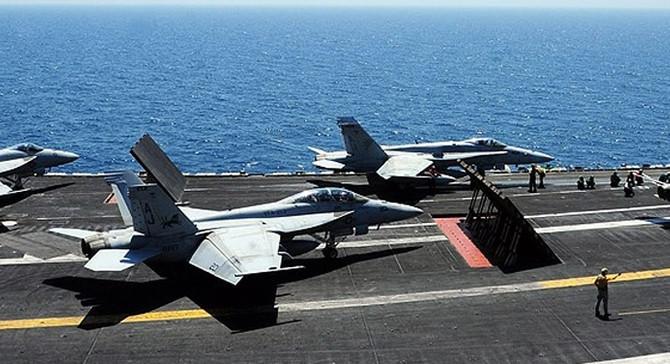Pasifik'te ABD uçağı düştü