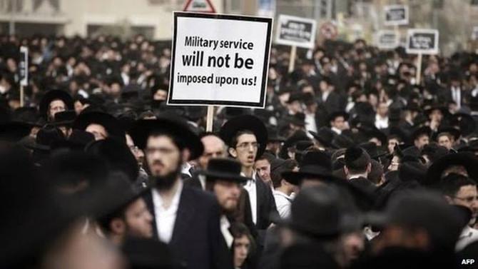 İsrail polisi 36 Ultra-Ortodoks Yahudiyi gözaltına aldı