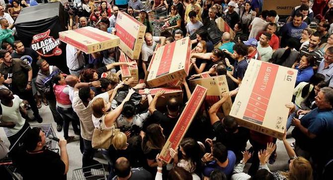 ABD'de Black Friday online satışları rekor kırdı