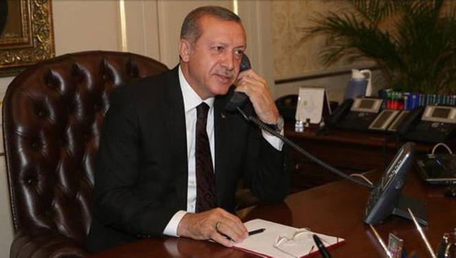 Erdoğan, Almanya Cumhurbaşkanı ile görüştü