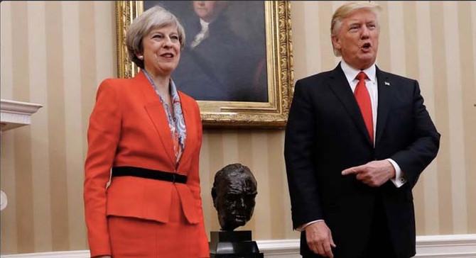 Trump'tan İngiltere Başbakanı'na: Beni boşver, terörle ilgilen