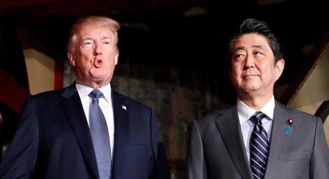 Trump, Tokyo'yu ticarette adil olmamakla suçladı