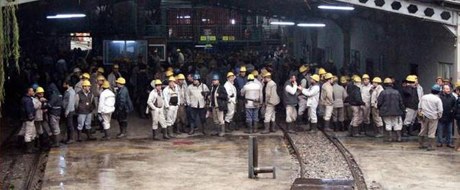 GMİS Başkan Yardımcısı: 3 bin madenci yer altında eylemde