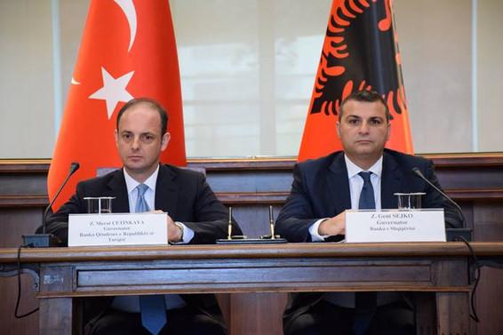 TCMB ve Arnavutluk Bankası arasında iş birliği anlaşması imzalandı