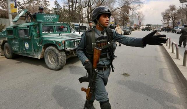 Afganistan'da televizyon kanalına saldırı