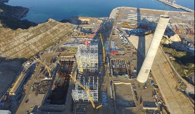 Karabiga'da elektrik üretimi başlıyor