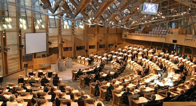 İskoçya Parlamentosu'nda şüpheli paket alarmı