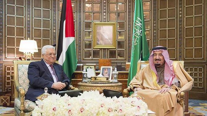 Filistin Devlet Başkanı Abbas'tan Suudi Arabistan ziyareti