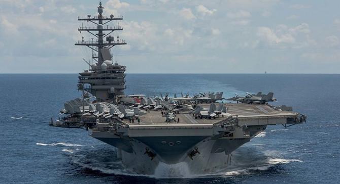 ABD ordusundan, tansiyonun yükseldiği Pasifik'te dev tatbikat