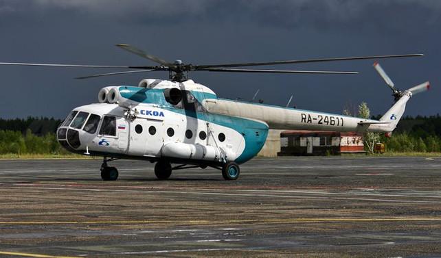 Rusya'da helikopter kayboldu