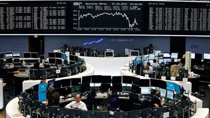 Avrupa borsaları sert düşüşle kapandı