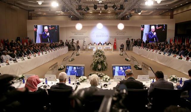 İslam ülkelerinin liderleri, Türkiye'de Kudüs için toplandı