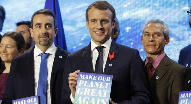 Trump'ın davet edilmediği iklim zirvesi Paris'te başladı