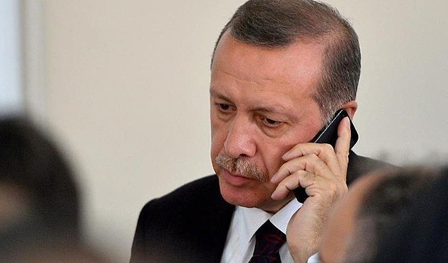 Erdoğan'dan Yılmaz'a taziye telefonu
