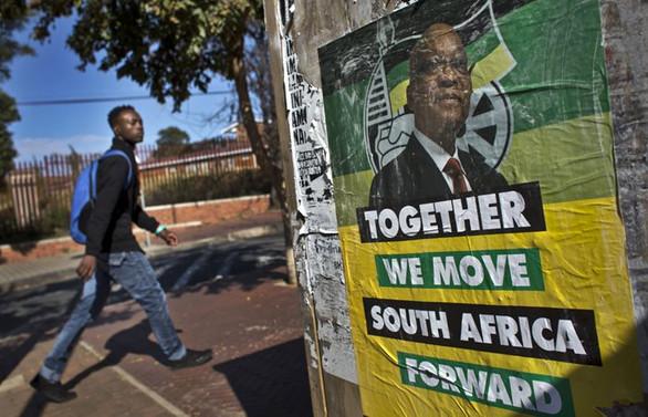Güney Afrika'da Zuma'nın partisi sandık başında