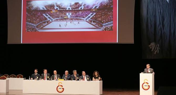 Galatasaray'da 2017 yılı bütçesi revize edildi