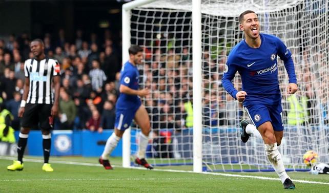 Chelsea, Hazard ile güldü
