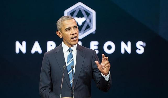 Obama'ya bir konferans için 400 bin euro