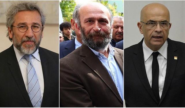 Dündar, Gül ve Berberoğlu için istenen cezalar belli oldu