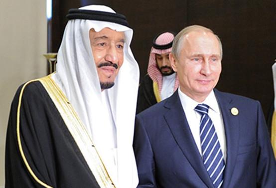 Rusya lideri Putin, Kral Selman ile görüştü
