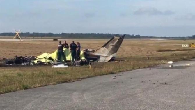 ABD'de uçak düştü: 4 ölü