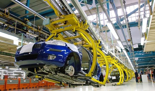 2016'da 1.3 milyon araç üretildi