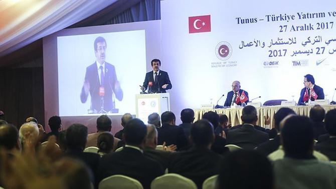 Zeybekci: Mutlaka Tunus'tan ithalatımızı artıracağız