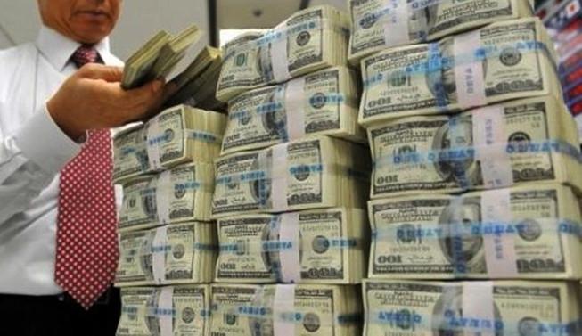 MB'nin toplam rezervi 2.1 milyar dolar azaldı