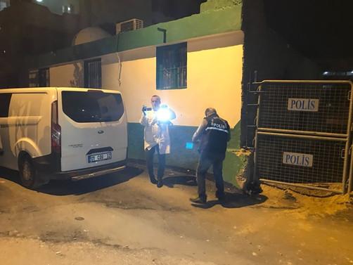 Adana'da polis karakolu yakınında patlama