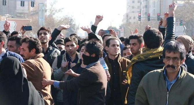 İran'da hükümet karşıtı gösteriye müdahale: 52 gözaltı