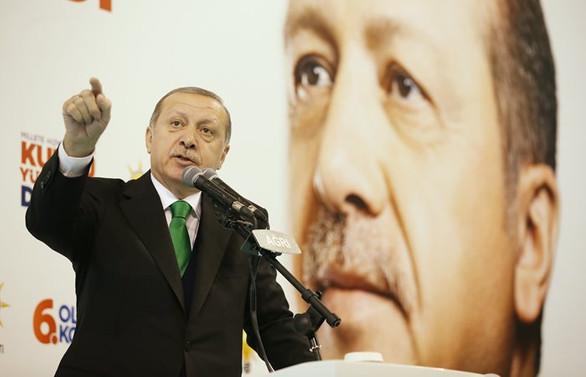 Erdoğan: Bizi itibarsızlaştırmaya çalışıyorlar