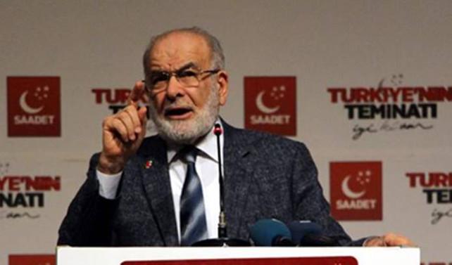 Karamollaoğlu: Anayasa Mahkemesi bile çalışmıyor