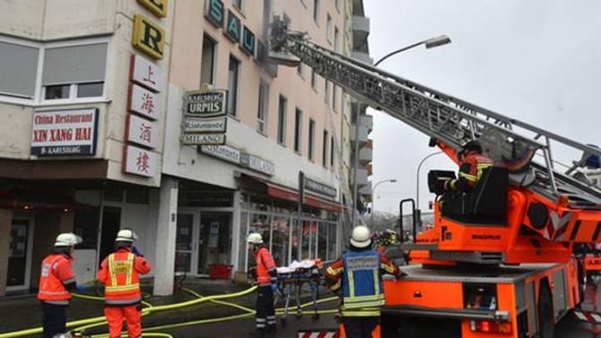 Almanya'da yangın: 4 ölü, 23 yaralı