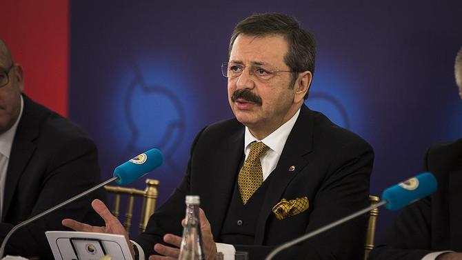 Hisarcıklıoğlu: Katar Türk firmaları için yeni fırsatlar sunuyor
