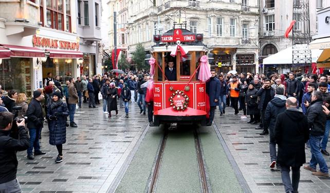 Nostaljik Tramvay tekrar hizmete girdi