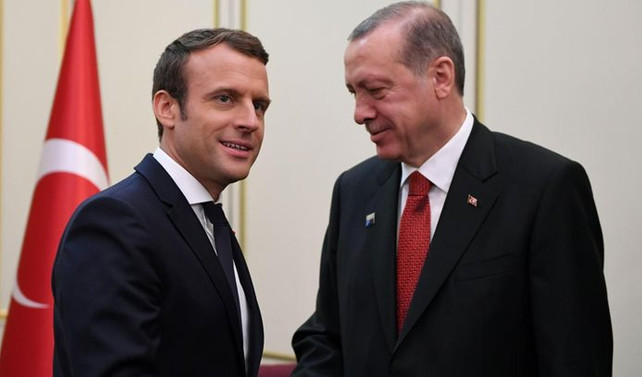 Cumhurbaşkanı Erdoğan, 5 Ocak'ta Fransa lideri Macron'la görüşecek