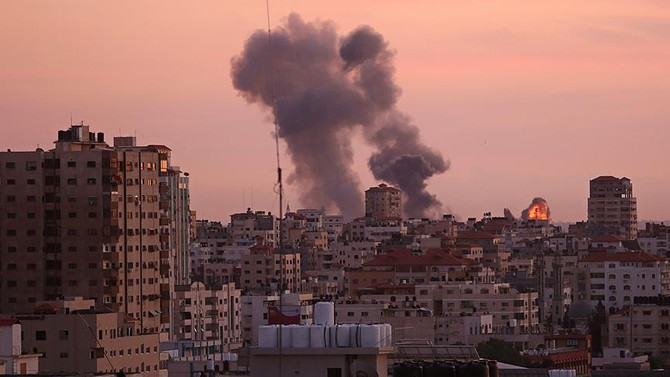 İsrail'den Gazze'deki 'gözetleme kulesi'ne hava saldırısı