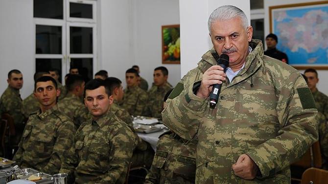 Yıldırım: Türk komandosu güven ve barışın teminatıdır
