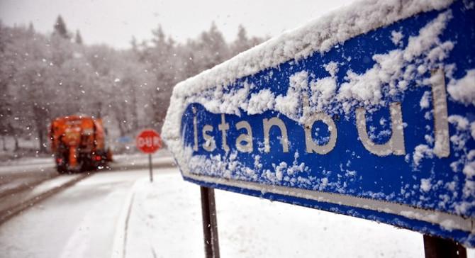 İstanbul'a ilk kar çarşamba geliyor