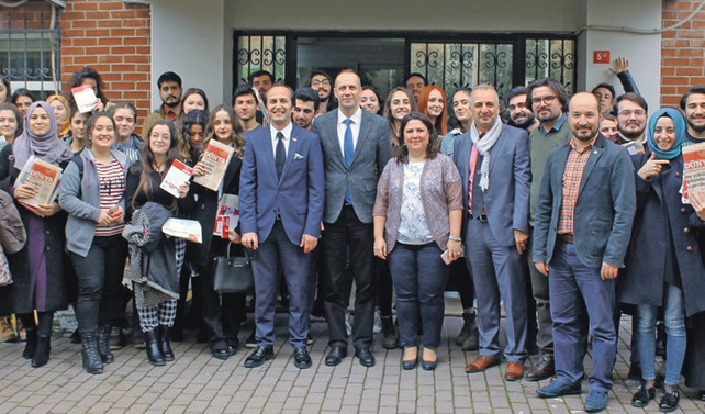 Coface'den Marmara Üniversitesi öğrencilerine e-Dünya sponsorluğu